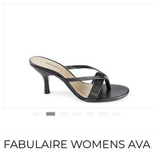 Fabulaire Ava Open Toe Heels